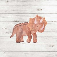 Water Color Dino Fine-Art Print