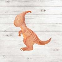 Water Color Dino III Fine-Art Print