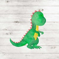 Water Color Dino IV Fine-Art Print