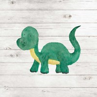 Water Color Dino VI Fine-Art Print