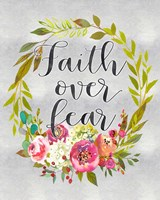 Faith Over Fear Fine-Art Print