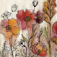 Contemporary Botanical Cream II Fine-Art Print