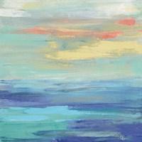 Sunset Beach II Bright Fine-Art Print