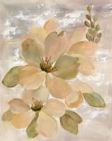 White on White Floral II Fine-Art Print