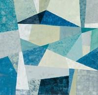 Indigo Geo Metric Soft Fine-Art Print