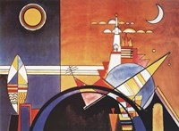 La Grande Piazza a Kiev Fine-Art Print