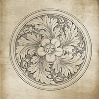 Rosette II Neutral Fine-Art Print