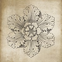 Rosette V Neutral Fine-Art Print