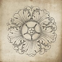 Rosette VI Neutral Fine-Art Print