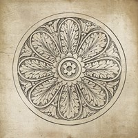 Rosette VIII Neutral Fine-Art Print