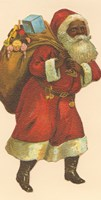 African American Santa III Fine-Art Print