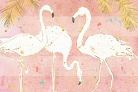 Flamingo Fever IV Fine-Art Print