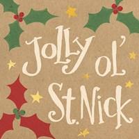 Vintage St.Nick VII Fine-Art Print