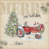 Country Christmas III Fine-Art Print