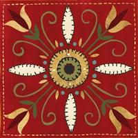 Festive Tiles I Fine-Art Print