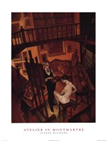 Atelier in Montmartre Fine-Art Print