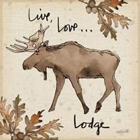 Lodge Life IV Fine-Art Print