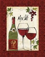 Wine Not I Border Fine-Art Print