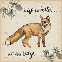 Lodge Life V Fine-Art Print