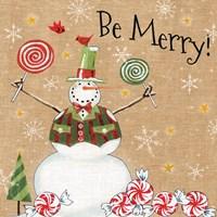 Sweet Snowmen IV Fine-Art Print