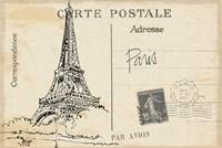 Postcard Sketches IV v2 Fine-Art Print
