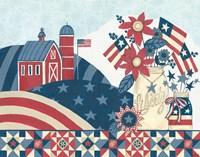 American Country I Fine-Art Print