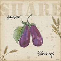 Farmers Feast  Harvest III Fine-Art Print