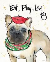 Strike a Paws VI Christmas Fine-Art Print