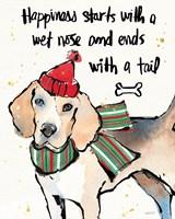 Strike a Paws IV Christmas Fine-Art Print