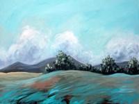 Turquoise Landscape Fine-Art Print