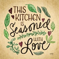 Kitchen Memories I (Kitchen seasoned) Fine-Art Print