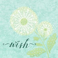 Dandelion Wishes III Fine-Art Print