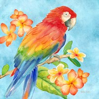 Tropical Paradise Brights I Fine-Art Print