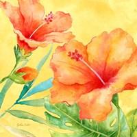 Tropical Paradise Brights II Fine-Art Print
