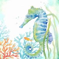 Sea Life Serenade III Fine-Art Print