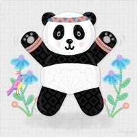 Tumbling Pandas III Fine-Art Print