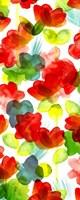 Tropical Floral Panel I Fine-Art Print