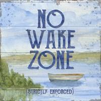 Lake Living II (no wake zone) Fine-Art Print