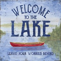 Lake Living III (welcome lake) Fine-Art Print