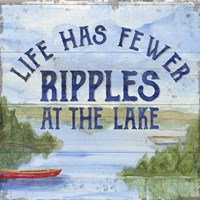 Lake Living IV (ripples) Fine-Art Print