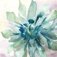 Succulent Watercolor III Fine-Art Print