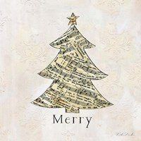 Vintage Christmas Merry Fine-Art Print