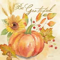 Welcome Fall - Be Grateful Fine-Art Print