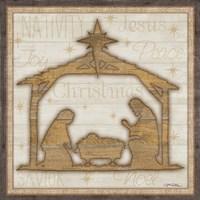 Rustic Nativity Fine-Art Print