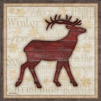 Rustic Reindeer Fine-Art Print