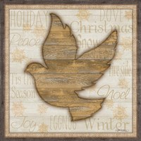 Rustic Peace Dove Fine-Art Print