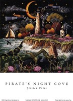 Pirates Night Cove Fine-Art Print