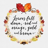 Pumpkin Spice Sentiment I Fine-Art Print