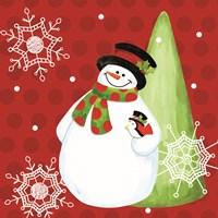 White Christmas Wishes II Fine-Art Print