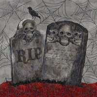 Something Wicked Tombstones Fine-Art Print